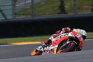 MotoGP Reporte de pruebas Márquez vuela en el tercer ensayo libre en Sachsenring