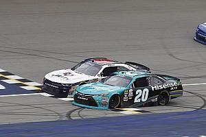NASCAR XFINITY Reporte de la carrera Hamlin venció a Byron en final de fotografía en Michigan