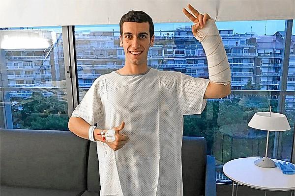 MotoGP Ultime notizie L'intervento al polso fratturato di Alex Rins è riuscito perfettamente
