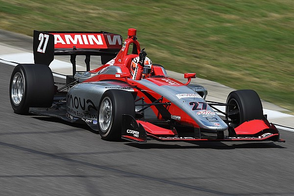 Indy Lights Indy GP Lights: Jamin dominates for second series win