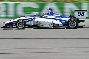 Indy Lights Reporte de calificación Pole de Colton Herta en la Serie Indy Lights
