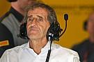 Prost: Üreticiler V8/V10/V12'ye dönmek istemiyor