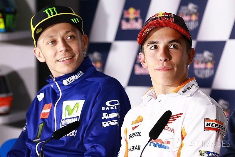 """Rossi: """"Márquez es el líder porque supo limitar los daños"""""""