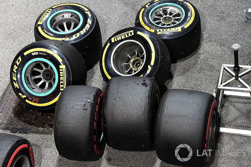 Pirelli anuncia la primera selección de neumáticos para 2018