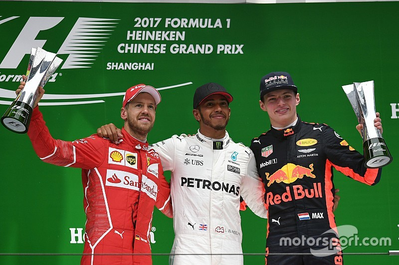 Chinese Gp Hamilton Wins As Wet Start Causes Fireworks