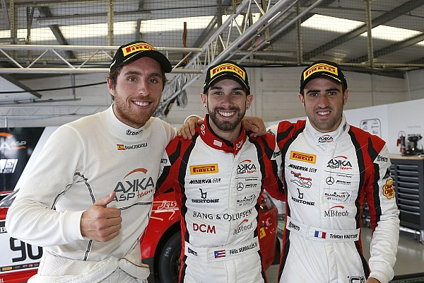 Blancpain Endurance Qualifying report Juncadella scores Silverstone pole for AKKA ASP Mercedes
