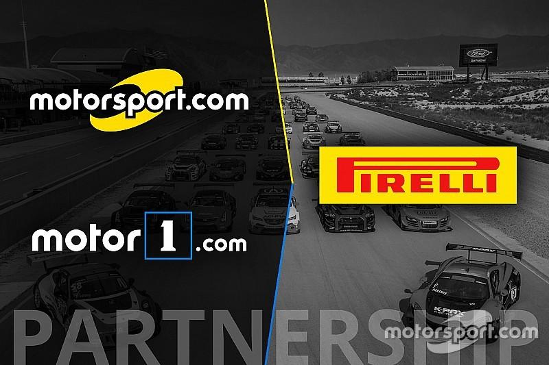 شبكة موتورسبورت تصبح الشريك الإعلامي الرسمي لتحدّي بيريللي العالمي