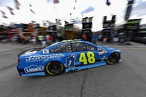 NASCAR Cup Noticias de última hora Jimmie Johnson terminó satisfecho las pruebas en  Chicagoland