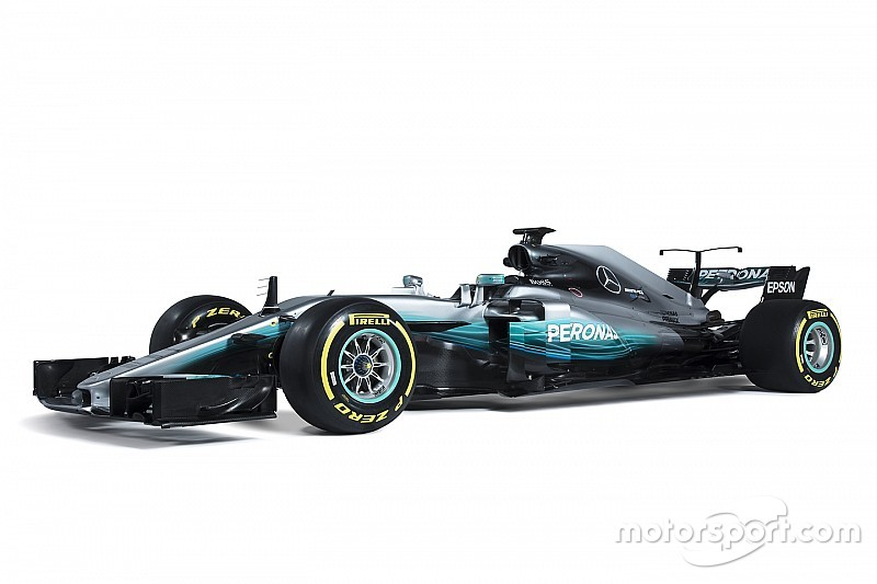 Fotostrecke: Das ist der neue Mercedes W08 für die Formel 1 2017