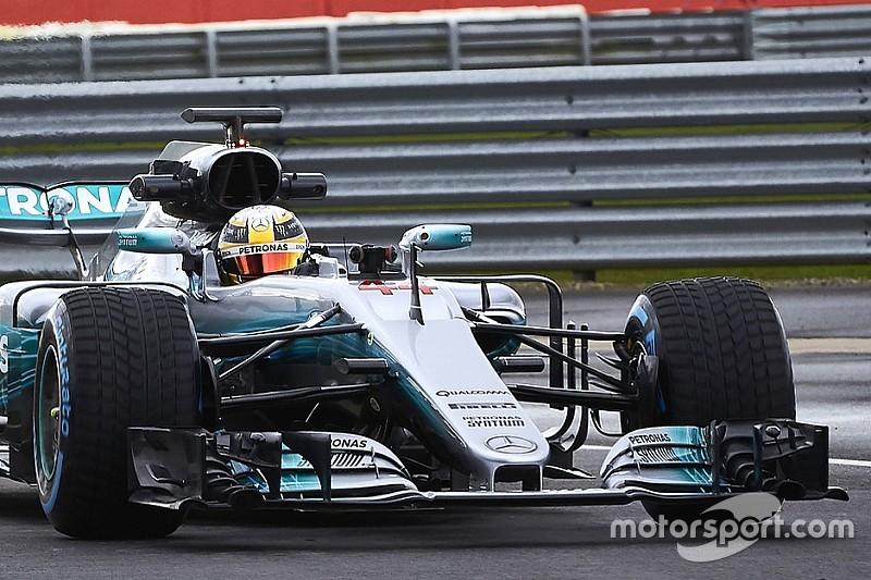 VIDEO 360º: Hamilton conduce el W08
