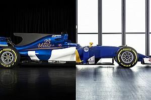 Formule 1 Toplijst Vergelijking: Sauber in 2016 en 2017