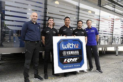 WithU Yamaha RNF MotoGP Team Resmi Diperkenalkan