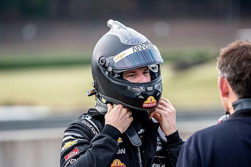 Hulkenberg completes over 100 laps in maiden IndyCar test