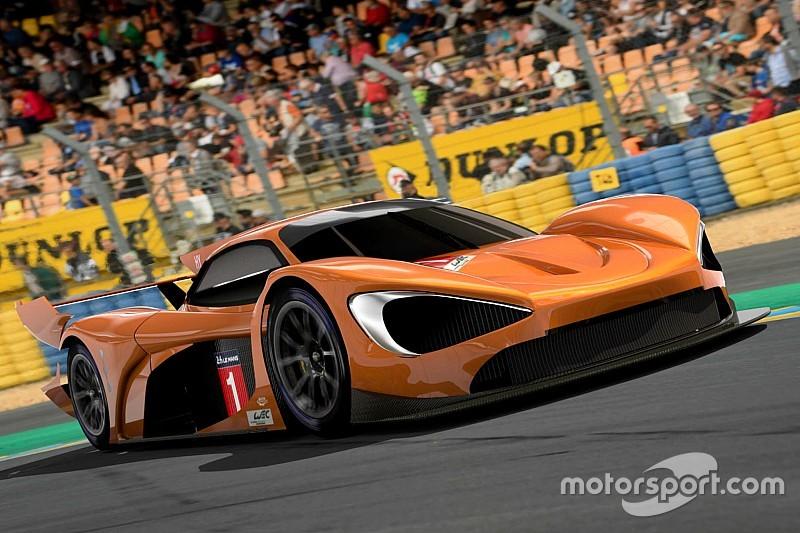 McLaren WEC entry