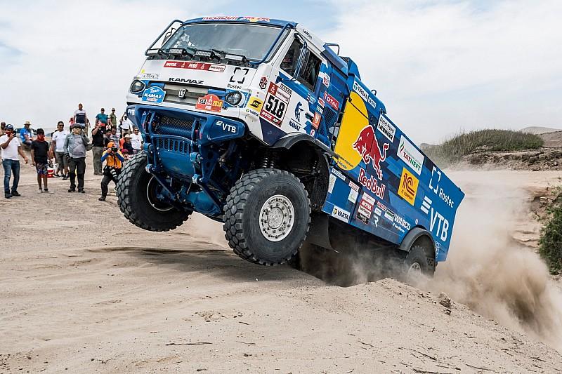 Rallye Dakar 2019: Kamaz-Truck trifft Zuschauer und wird disqualifiziert