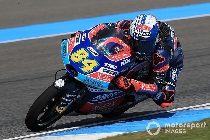 Moto3日本FP1|コンフェイル首位発進。真崎が日本勢最速11位