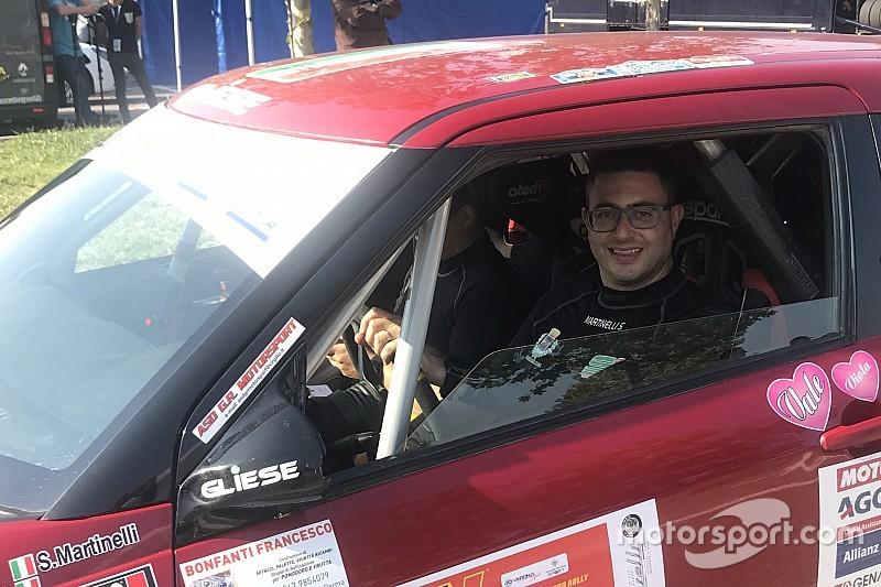 Suzuki Rally Trophy, PS2: Martinelli detta il passo e Cogni lo segue