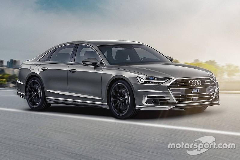 Новий Audi A8 з тюнінгом від ABT став ще потужніше
