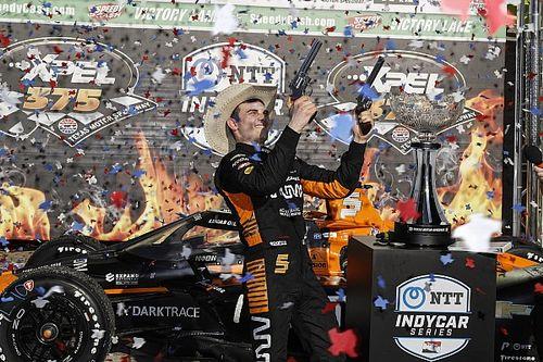 GALERÍA: la victoria de O'Ward en IndyCar en Texas