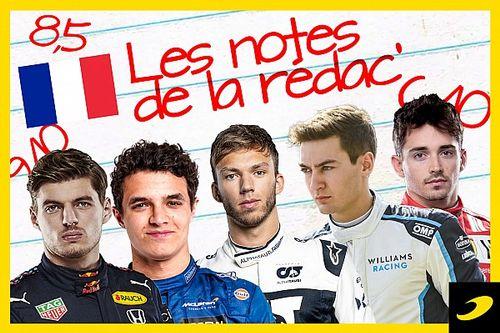 Les notes du Grand Prix de France 2021
