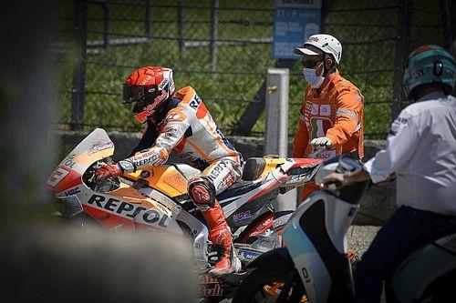 MotoGP: Márquez soma terceiro abandono consecutivo em momento irreconhecível; entenda