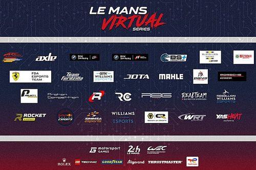 Le Mans Virtual Series: equipes são anunciadas para 2021/2022