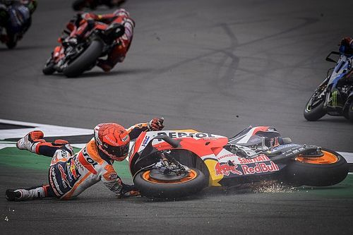 """Marquez: MotoGP crash saves """"don't exist in my dictionary"""""""