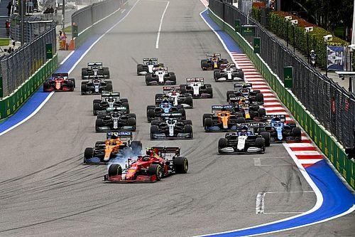 Las estadísticas que dejó el GP de Rusia de F1 2021