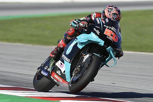 Barcelona MotoGP 3. antrenman: Quartararo, Vinales'in önünde lider