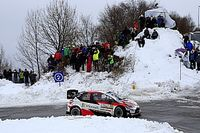 Evans' WRC title hopes in jeopardy after crash in Monza Rally