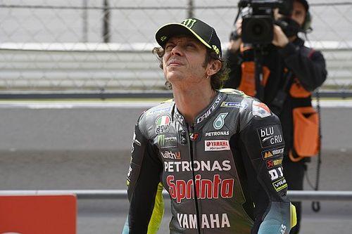 Start Ke-17 di Portugal, Rossi Cemas dengan Performanya