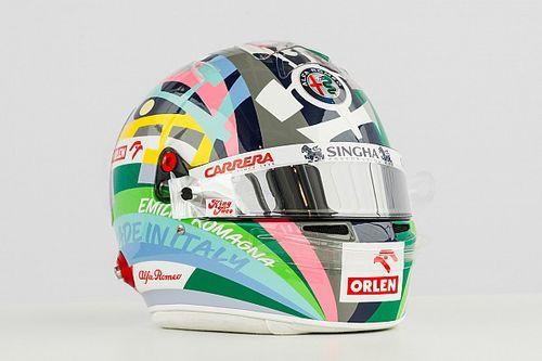 F1: ecco il casco di Giovinazzi per il GP dell'Emilia Romagna