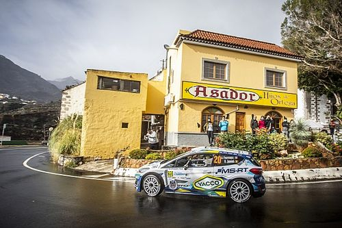 Rally Islas Canarias: Video z OS8