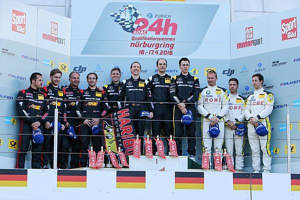 Mercedes mit Doppelsieg beim Qualifikationsrennen auf der Nordschleife