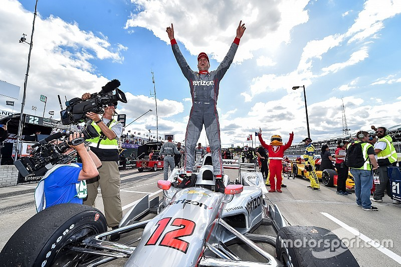 Power wins in Detroit for Penske, Chevy… and himself
