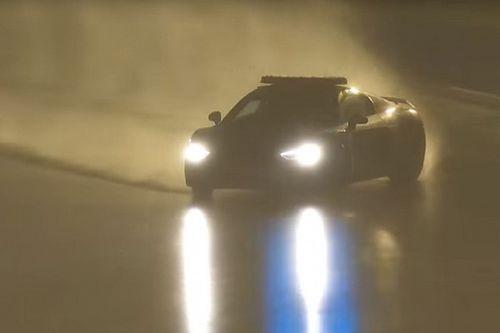 Video: Der spektakuläre Drift des Safety-Cars im Regen von Le Mans