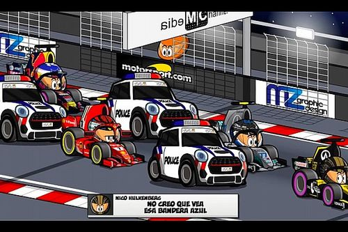 Video: el simpático resumen del GP de Singapur, por MiniDrivers