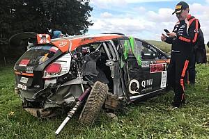 Видео: Лукьянюк начал очередную гонку ERC с аварии