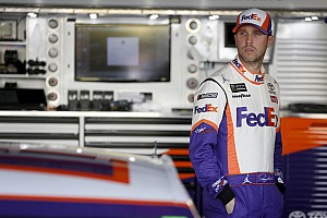 Denny Hamlin finishes fifth in a 'top-three' car at Martinsville