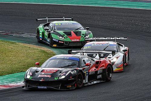 GT Italiano: la Ferrari-Easy Race vince una pazza Gara 2 a Misano