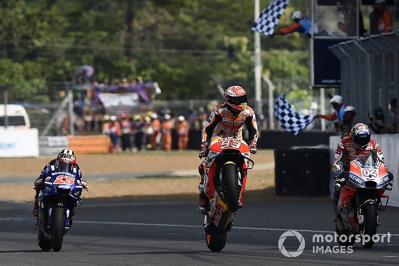 Положение в зачете MotoGP после Гран При Таиланда