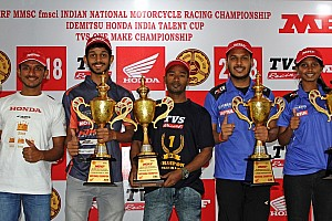 Chennai National Motorcycle: TVS rider Jagan secures seventh title