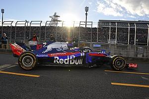 """""""10年ぶり""""最新F1マシンがもてぎを走行。トロロッソ・ホンダの咆哮響く"""