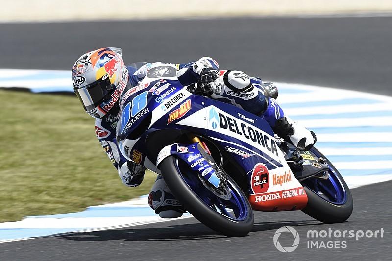 Moto3 Australia: Martin start terdepan, Bezzecchi ke-15
