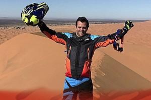 Dakar, Caetano realizza il sogno di una vita: