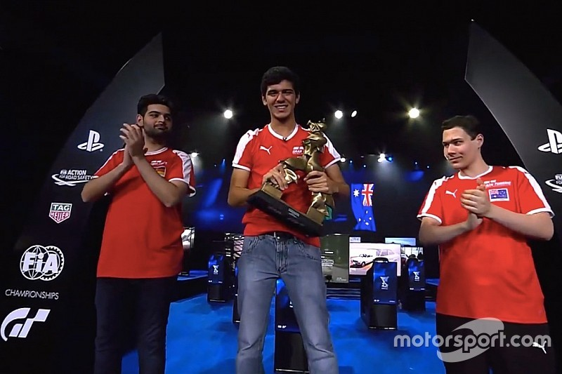 Igor Fraga se convierte en el primer campeón del mundo virtual de la FIA