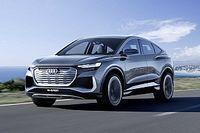 450 km-es hatótávval, akár félórás töltési idővel startol az Audi Q4 E-Tron Sportback koncept