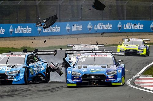 Frijns concedes DTM title challenge over after Zolder DNF