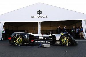 Roborace Motorsport.com La Roborace di scena all'Autosport International