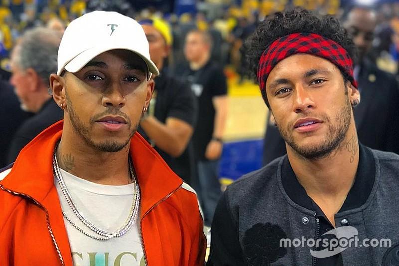 """Hamilton felicita a su """"hermano"""" Neymar por el traspaso al PSG"""
